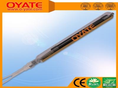 单端半镀金全编织碳纤维加热管(中波)