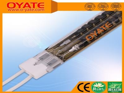 双孔半镀金反射碳纤维加热管(中波)