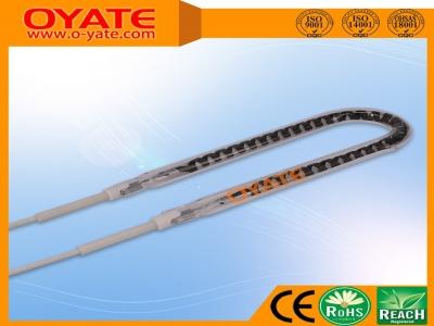 半镀白反射U形碳纤维加热管(中波)