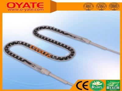 半镀白反射M形碳纤维加热管(中波)