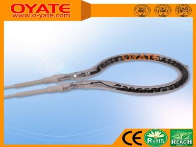 半镀白反射球拍形碳纤维加热管(中波)