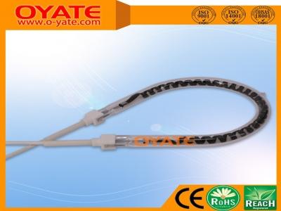 半镀白反射梨形碳纤维加热管(中波)