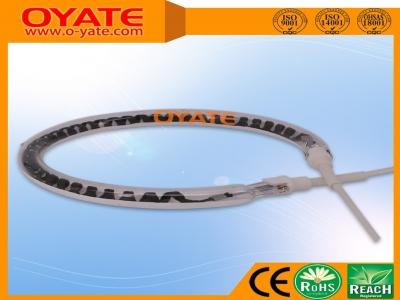 半镀白反射圆形碳纤维加热管(中波)