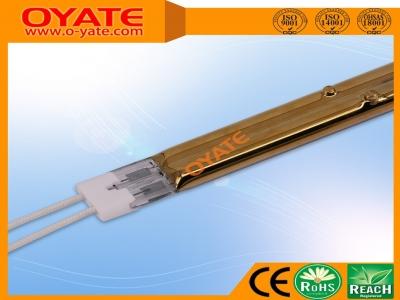 双管半镀金反射卤素加热管(短波)