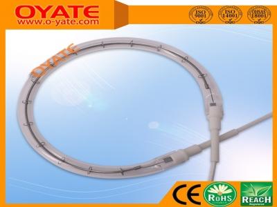 圆形透明卤素加热管(短波)