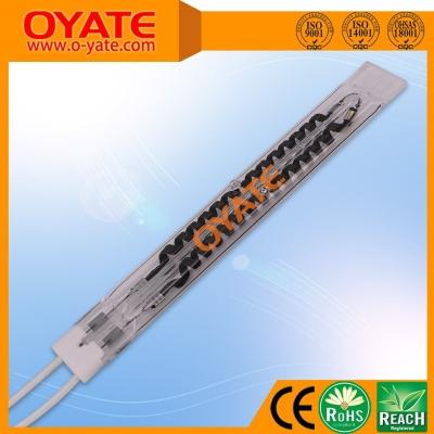 双孔单端透明碳纤维加热管(中波)